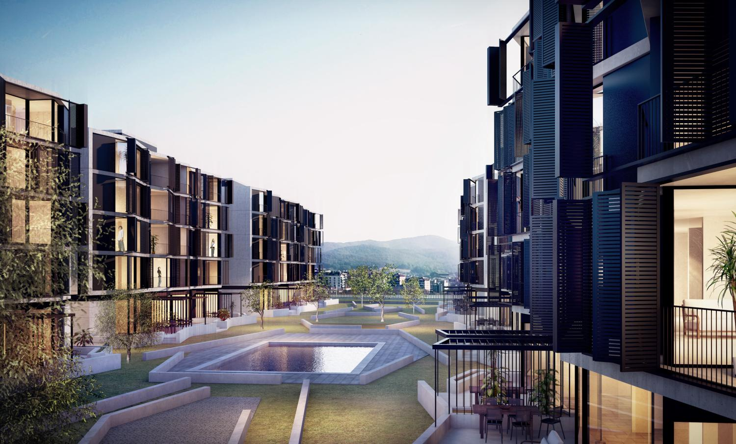 3D RENDERING FOR A HOUSING DEVELOPMENT COMPETITION
