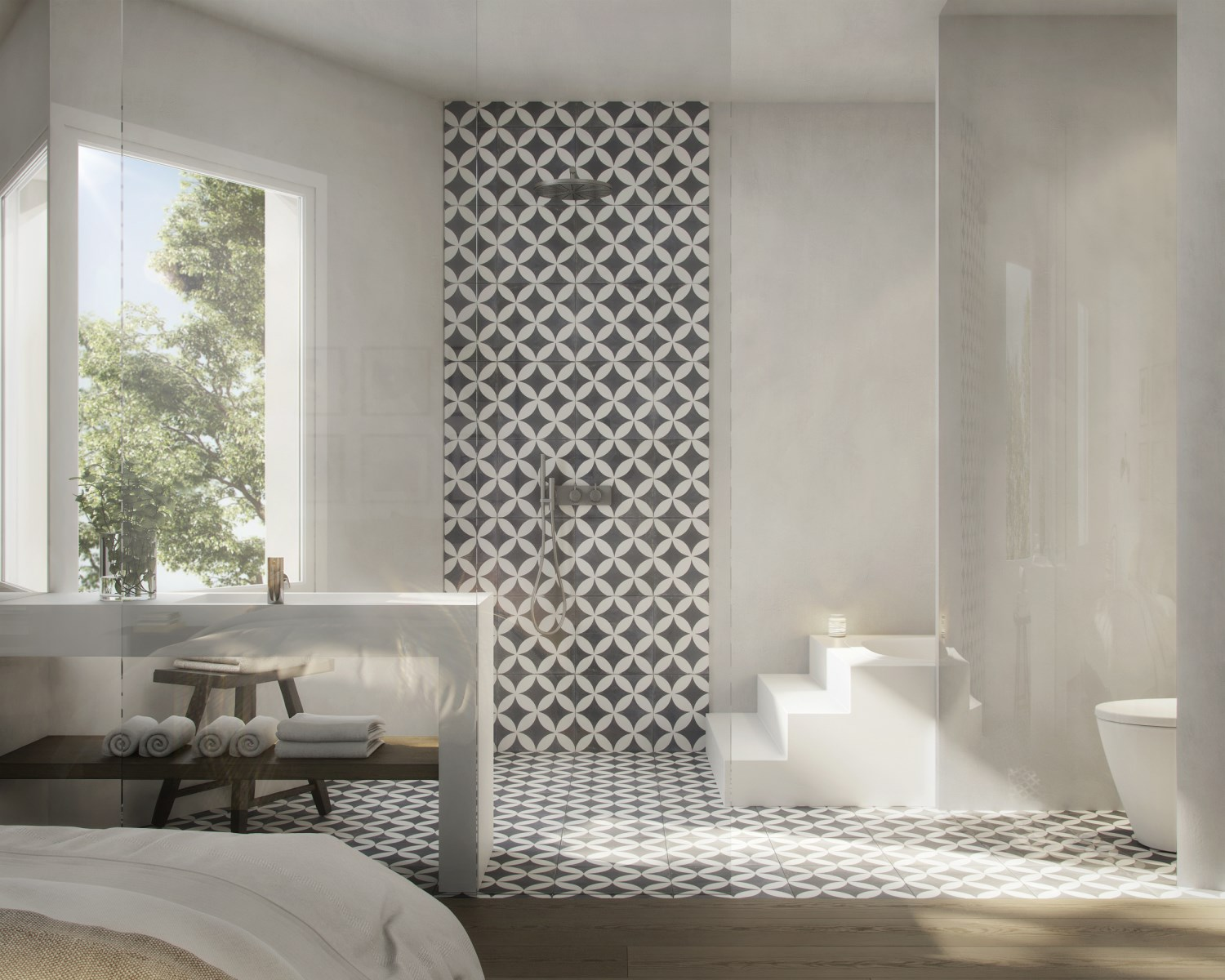 3D INFOGRAPHICS OF AN APARTMENT IN BARCELONA